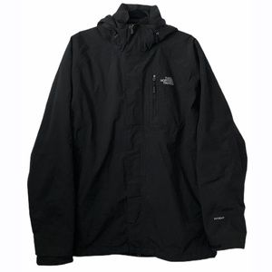 The North Face Hyvent Black Jacket Hood & Lining